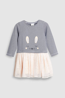 Next Stripe Bunny Dress (3mths-6yrs)