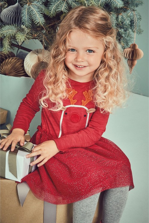 Next Christmas Dress (3mths-6yrs)