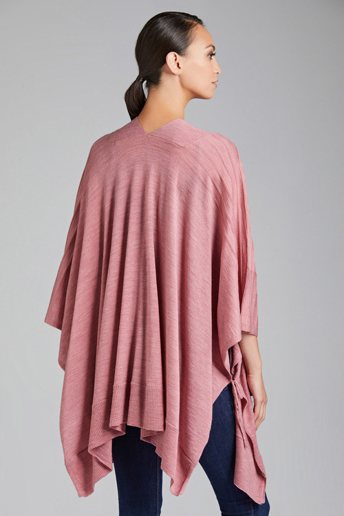 Capture Merino Self Stripe Cape