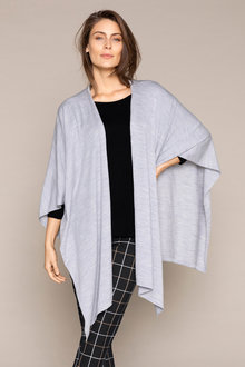 Capture Merino Wrap Cape