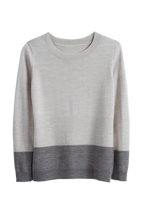 Capture Merino Long Sleeve Stripe Sweater