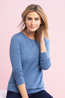 Capture Merino Crew Neck Sweater