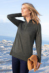 Capture Merino Half Zip Sweater