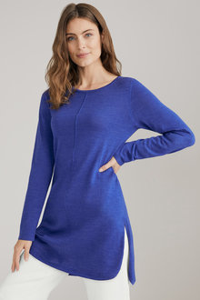 Capture Merino Seam Detail Tunic - 219631