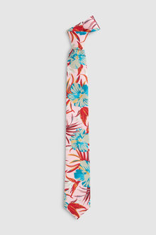 Next Hawaiian Style Print Tie
