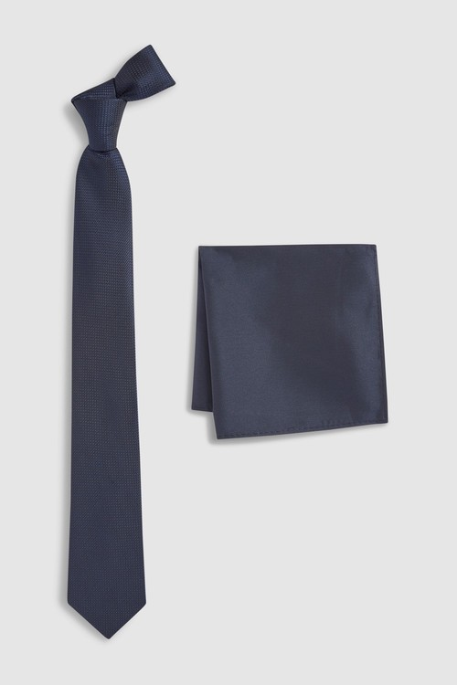 Next Tie And Pocket Square