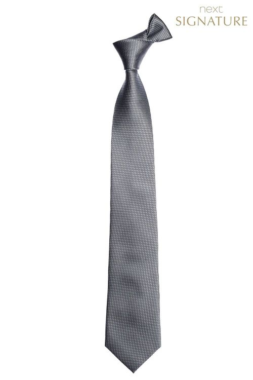 Next Signature Textured Tie