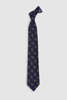 Next Signature Paisley Pattern Tie