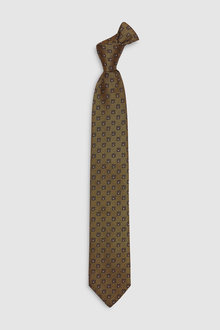 Next Signature Made in Italy Patterned Tie