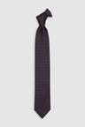 Next Signature Silk Hexagon Woven Tie