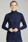 Capture Ribbed Roll Neck Top