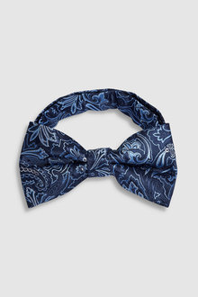 Next Floral Pattern Bow Tie