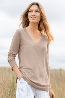 Capture V Neck Sweater
