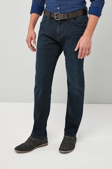Next Belted Jeans - Bootcut Fit