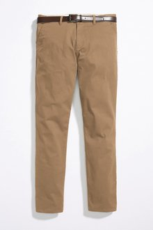 Next Belted Chinos - Slim Fit