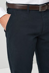 Next Belted Chinos - Straight Fit