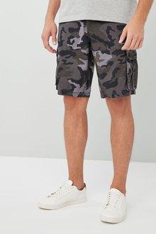 Next Camo Cargo Shorts