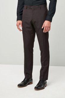 Next Slim Fit Check Shawl Tuxedo Suit: Trouser