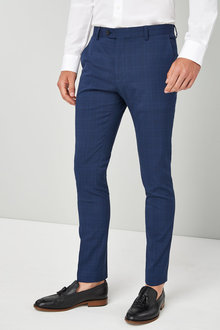 Next Super Skinny Check Suit: Trouser