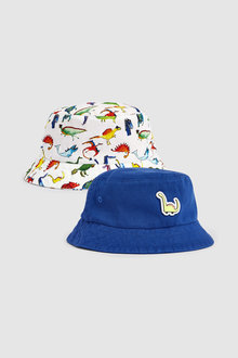 Next Dino Fisherman's Hats Two Pack (Younger)