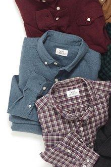 Next Long Sleeve Brushed Twill Shirt