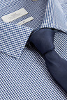 Next Mini Gingham Shirt And Tie Set - Slim Fit Single Cuff