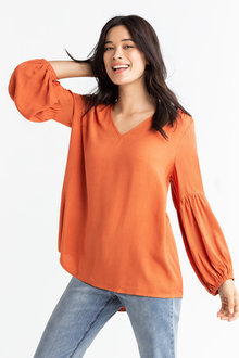 Capture Statement Sleeve Blouse