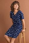 Capture Short Sleeve Shift Dress