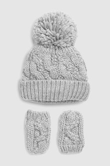 Next Hat And Gloves Two Piece Set (Younger)