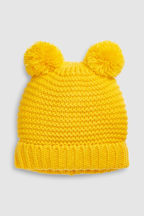 Next Double Pom Beanie Hat (Younger)