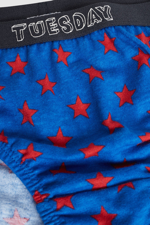 Next Days Of The Week Monster Briefs Seven Pack (1.5-8yrs)