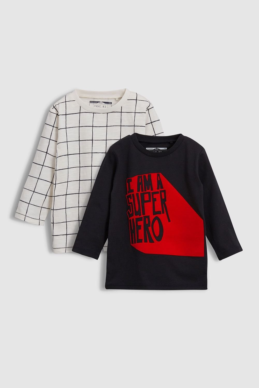 8539cd4b Next Superhero T-Shirts Two Pack (3mths-6yrs) Online | Shop EziBuy