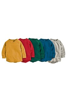 Next Long Sleeve T-Shirts Five Pack (3mths-6yrs) - 219885