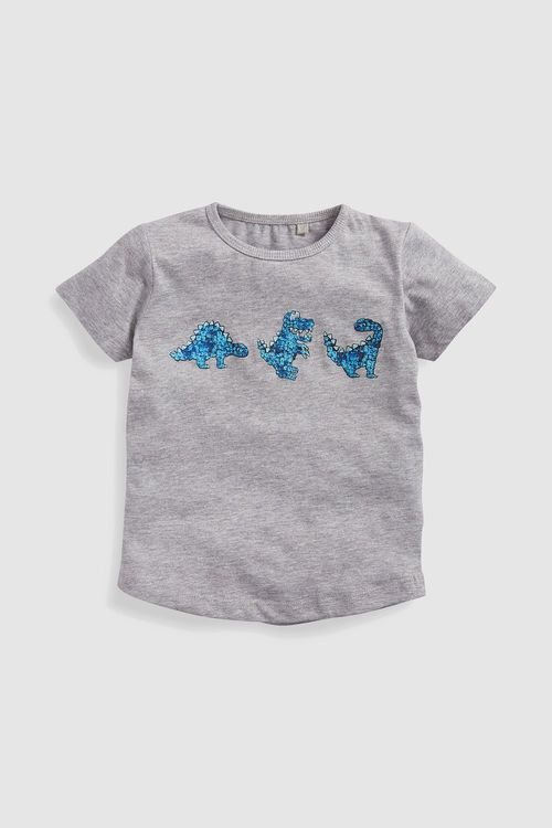 Next Short Sleeve Dinosaur T-Shirt (3mths-6yrs)