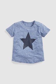 Next Short Sleeve Star T-Shirt (3mths-6yrs)
