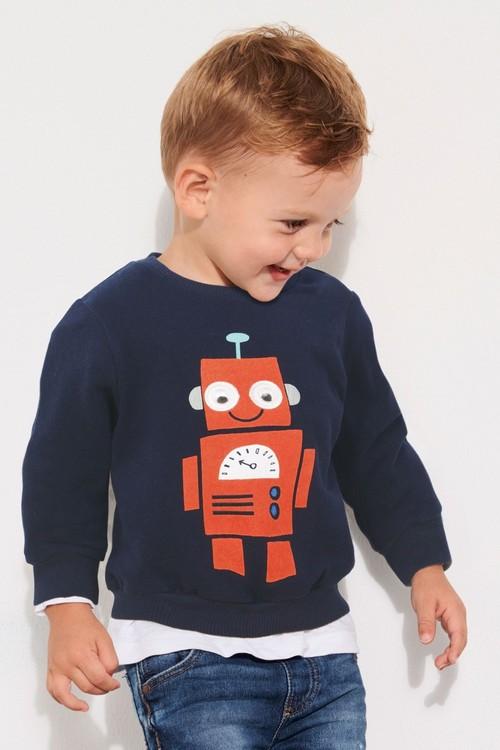 Next Googly Eye Robot Crew (3mths-6yrs)
