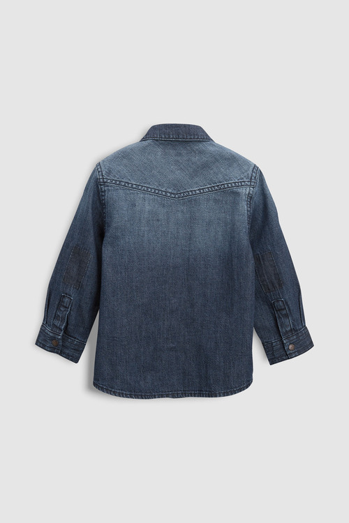 Next Long Sleeve Denim Shirt (3mths-6yrs)