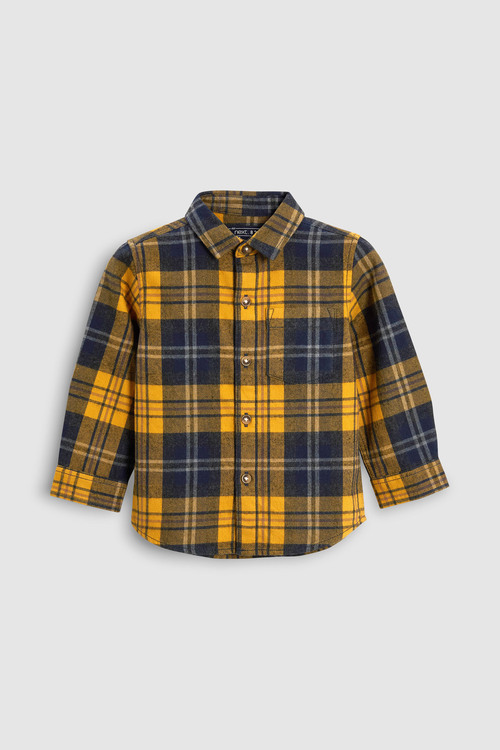 Next Check Long Sleeve Shirt (3mths-6yrs)