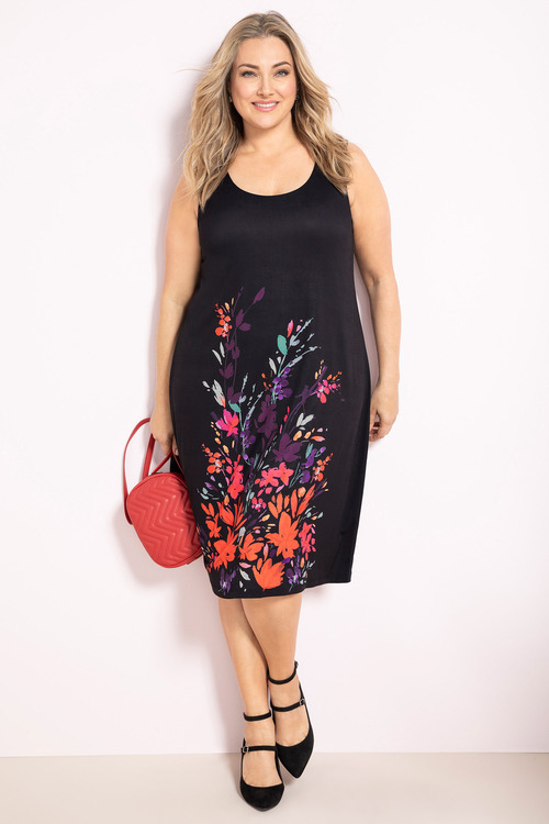 Plus Size - Sara Dry Knit Dress