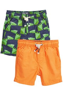Next Pull-On Shorts Two Pack (3mths-6yrs)