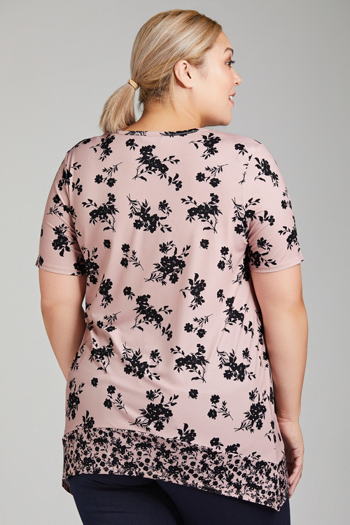 Plus Size - Sara Floral Top