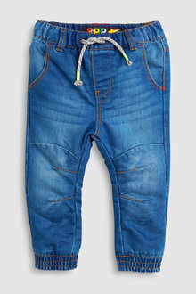 Next Jersey Lined Pull-On Jeans (3mths-6yrs)
