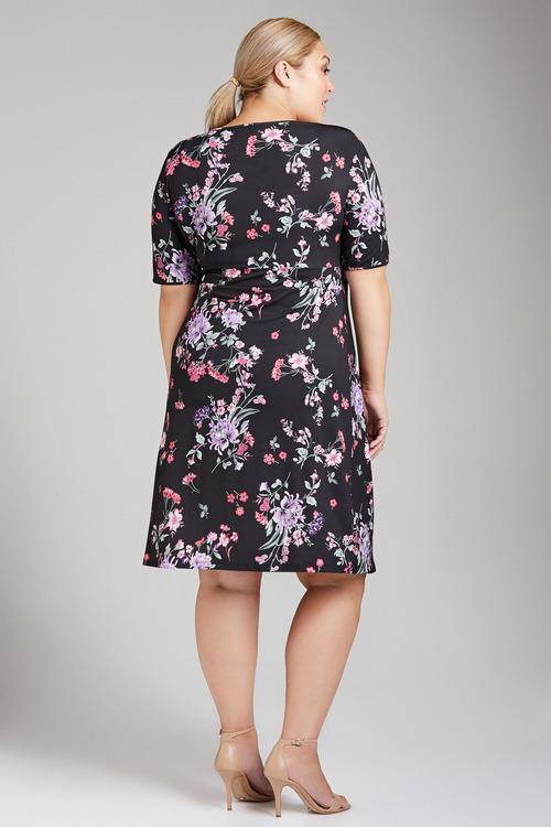 Plus Size - Sara Gather Front Dress