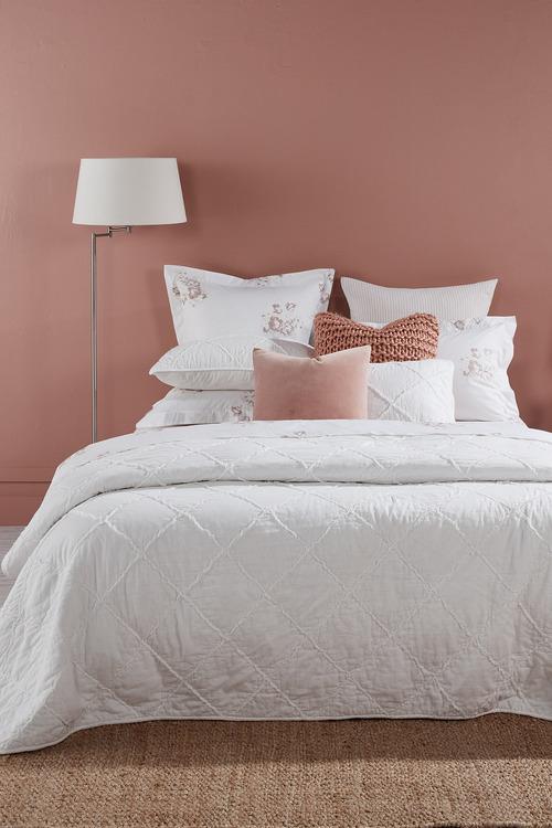 Harrowset Ruffle Bedcover Set
