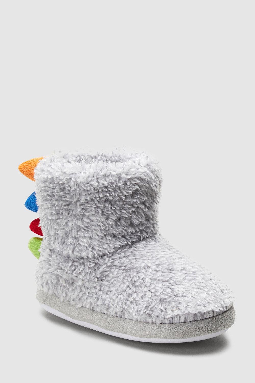 592f3762f461 Next Dinosaur Spike Slipper Boots (Younger) Online