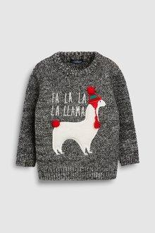 Next Fa La Llama Jumper (3mths-6yrs)