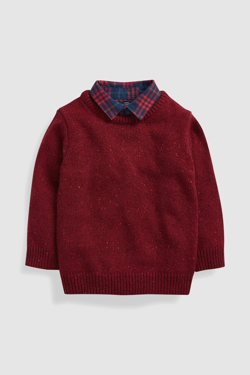Next Mock Layer Jumper (3mths-6yrs)