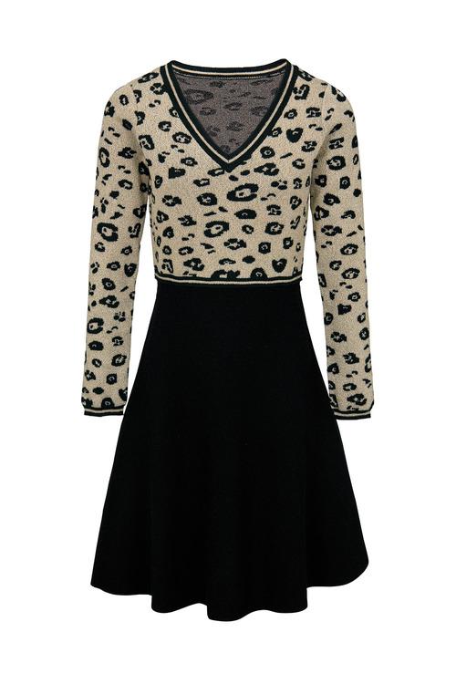 Heine Animal Pattern Knit Dress