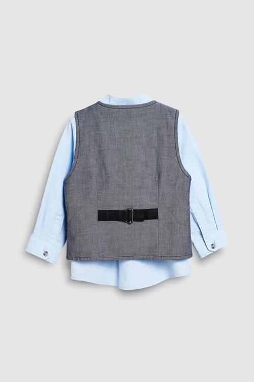 Next Waistcoat Set (3mths-6yrs)