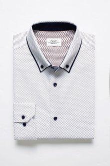 Next Long Sleeve Double Collar Shirt